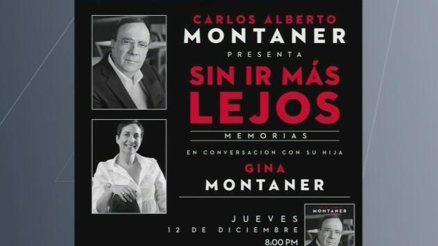 El escritor cubanoamericano Carlos Alberto Montaner revela detalles de su nuevo libro 'Sin ir más lejos'
