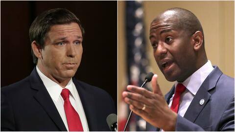 El 'candidato de Trump' y un afroestadounidense se disputarán la gobernación de Florida