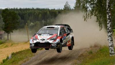 Ött Tänak se llevó la victoria del Rally WRC de Finlandia