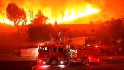 Las mansiones de estos famosos fueron afectadas por los incendios en California