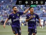 """Raúl Ruidíaz se encargó de que Seattle goleara al Galaxy del """"Chicharito"""""""
