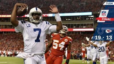 Los Colts sorprenden a los Chiefs y le quitan invicto