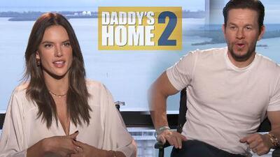 'Daddy's Home 2': la comedia del beso entre Mel Gibson y Mark Wahlberg