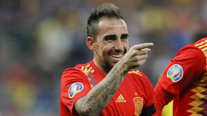 Paco Alcácer está en Villarreal para cerrar su fichaje