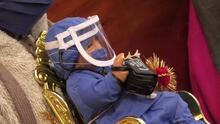 Niños Jesús con mascarilla e iglesias a medio llenar: así celebraron el día de la Candelaria