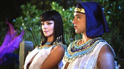 Ramsés y Nefertari recuerdan a Moisés