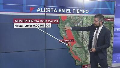 Emiten advertencia por calor en el centro y parte del sur de California durante este lunes