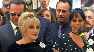 """Marysol Sosa anticipó """"se hará más justicia"""" instantes antes de sepultar las cenizas de su padre José José"""