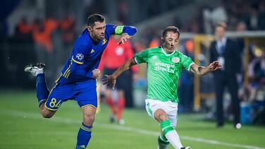 Un penal vuelve a sentenciar al PSV en el empate a dos contra el Rostov