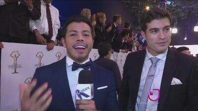 Mira que dicen los famosos que asistieron a los premios Tv y Novelas