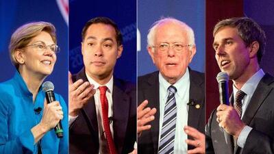 Educación, economía, medio ambiente, inmigración y Trump, los temas que los precandidatos demócratas le hablaron a los hispanos en el foro Univision-LULAC