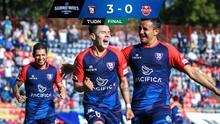 Tepatitlán saca ventaja de 3-0 sobre Mineros en la semifinal de ida