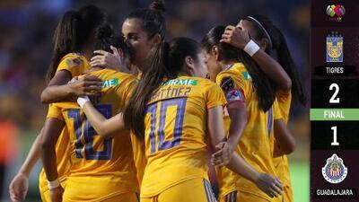 Tigres comienza con el pie derecho la defensa de su corona en la Liga MX Femenil