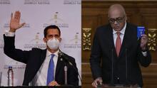 Guaidó extiende el mandato de la Asamblea Nacional mientras el chavismo se juramenta en el Congreso