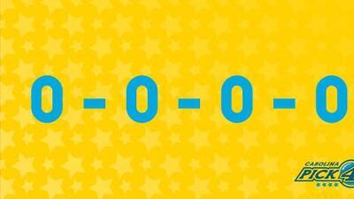El cero, número de la suerte de más de 2,000 ganadores de la lotería en Carolina del Norte