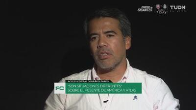 Pável Pardo con el corazón dividido: Analiza el Atlas vs. América