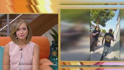 Hispano denuncia la agresión que recibió por un transeúnte en Los Ángeles que acabó con su carrito de elotes