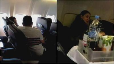 Ninel Conde y su ex coincidieron en un vuelo y esto fue lo que pasó