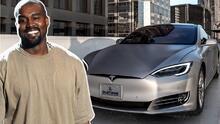 El amor de Kanye West por su Tesla (really?) es como para poner celosa a Kim Kardashian