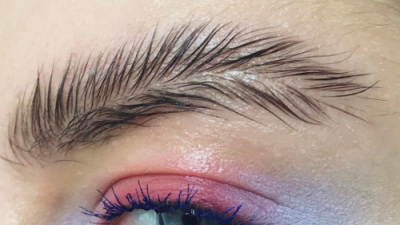 Cejas como plumas: la broma de maquillaje en Instagram que terminó siendo tendencia