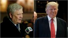 Directivos de Univision se reúnen con Trump para tratar temas prioritarios para los hispanos