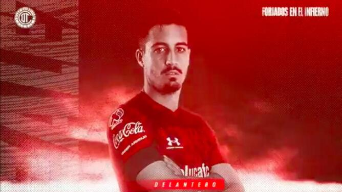 ¡Diablo español! Ian González refuerza al Toluca para Apertura 2021