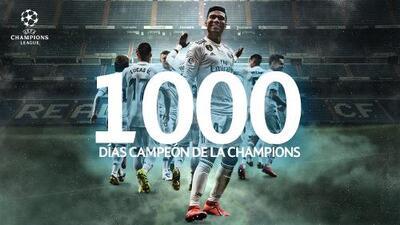 Reyes de Europa... Real Madrid cumplió 1000 días como campeón