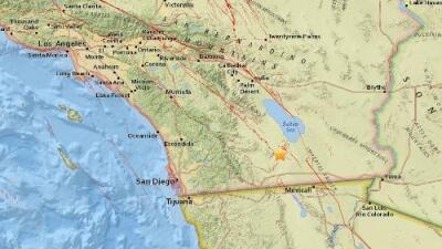 Un temblor de magnitud 3.3 sacude la zona de Westmorland, California