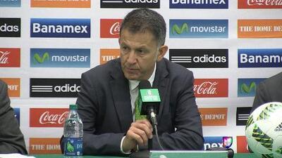 """Juan Carlos Osorio: """"Ojalá México pueda llegar a la final de la Copa América Centenario"""""""