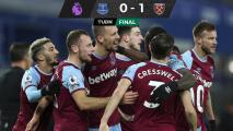 Frena West Ham al Everton en el primer duelo en la Premier League