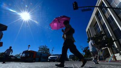 Alerta por la llegada de una intensa ola de calor a California