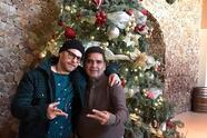 Luis Ernesto Franco y su padre