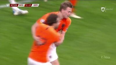 ¡GOOOL! Matthijs de Ligt anota para Netherlands