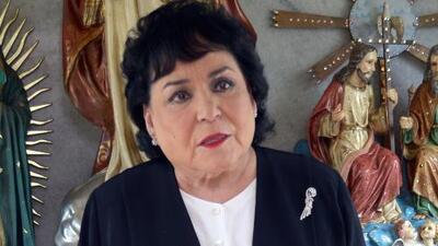 Juan Gabriel y Joan Sebastian no podían faltar en el altar de muertos de Carmen Salinas