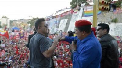 Chávez hizo autocrítica al celebrar su 58 cumpleaños