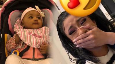 Ni con un GRAMMY Cardi B se emocionó tanto como cuando escuchó a su bebé Kulture decir esto