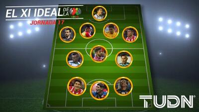 León, San Luis y Pachuca destacan en el once ideal de la jornada 17