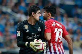 En fotos: Real Madrid y Atlético de Madrid no se hicieron daño en el derbi