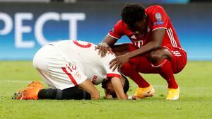 """Jesús Navas lamenta caer ante el Bayern Múnich: """"Es una pena"""""""