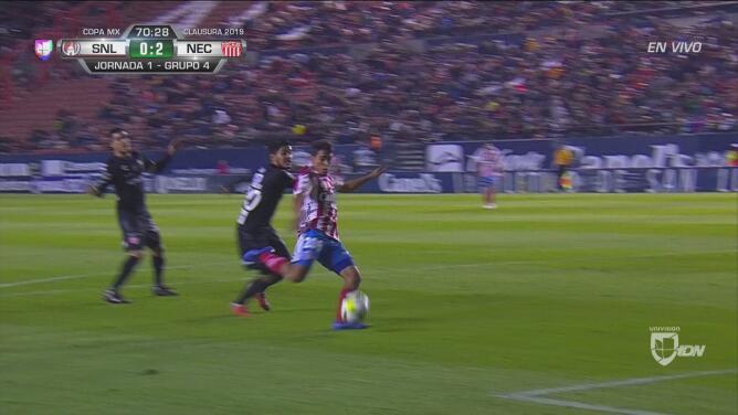 Otro gol de San Luis, anulado