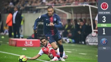 Mbappé anota para el PSG pero no alcanza a Messi