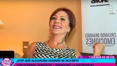 Filtran video donde Alejandra Guzmán insulta a periodista tras entrevista