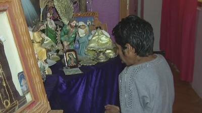 Una fiel devota asegura que la imagen de la Virgen de Guadalupe apareció en el piso de su casa