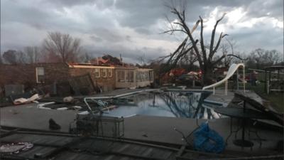 Cadena de tornados azota varias ciudades de Alabama y pone en alerta a Georgia