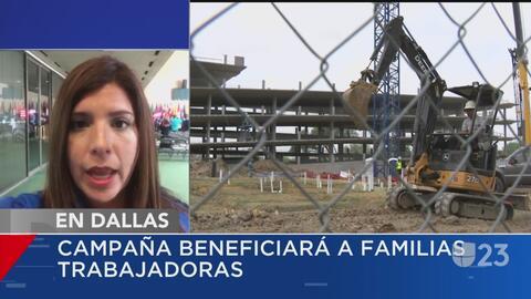Realizan campaña en beneficio de las familias de trabajadores hispanos