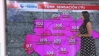 Tarde de miércoles calurosa en la capital texana