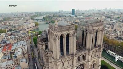 The aftermath of the Notre-Dame Cathedral fire, Macron vows to rebuild