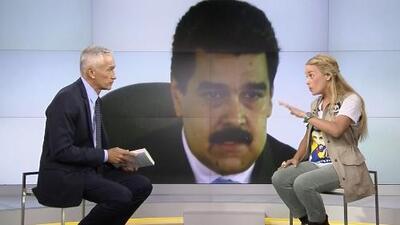"""Lilian Tintori: """"Quien tiene preso a Leopoldo es Maduro, es una orden de él, es un capricho de él"""""""