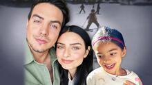 Tiene 6 años y ya Aitana supera con maestría a sus hermanos mayores Vadhir y Aislinn Derbez