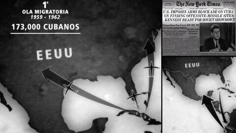 En 60 años, las olas de migrantes cubanos que llegaron a EEUU